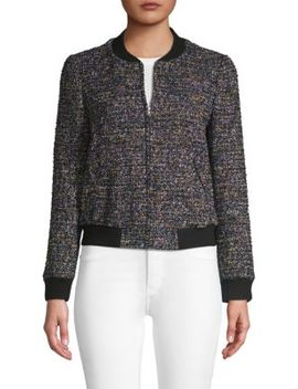 Tweed Bomber Jacket by Rebecca Taylor