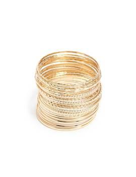 Geo Bangle Bracelet Set by Forever 21