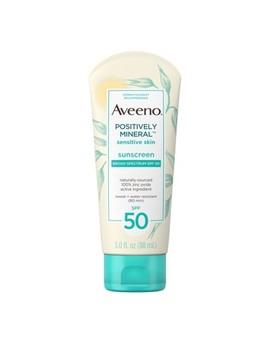 Aveeno Mineral Sensitive Skin Sunscreen   Spf 50   3oz by Aveeno