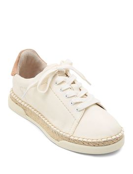 Women's Madox Leather Low Top Sneakers by Dolce Vita