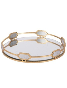 Sovann Round Tray, 16x2.5 Inches by A And B Home