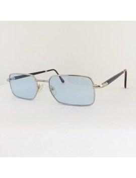 Custom Pol Gaspard Vintage Frames, Gaspard Sunglasses, Silver Wood Frames Custom Light Blue Lenses, Cartier Style Sunglasses, New Dead Stock by Etsy
