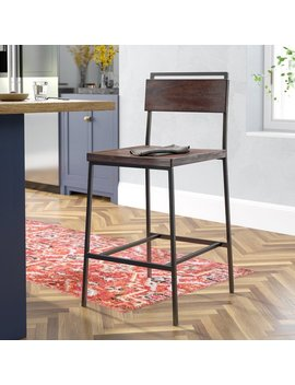 Sakamoto Bar Stool by Laurel Foundry Modern Farmhouse