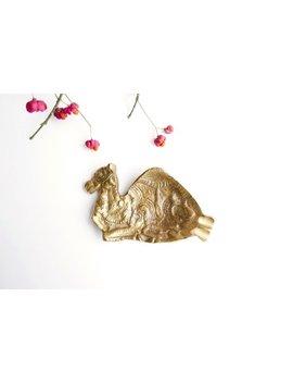 Vintage Brass Dromedary Ashtray Jerusalem, 1950s / Boho Chic Folk Bohemian Desert Animal Sculpture by Etsy