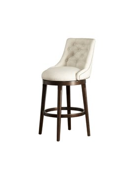 "Daniel 25"" Swivel Bar Stool With Cushion by Darby Home Co"