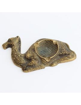 Vintage Brass Camel Ashtray, Brass Figurine, Brass Ashtray, Oriental Tray, Orient, Camel, Dromedary by Etsy