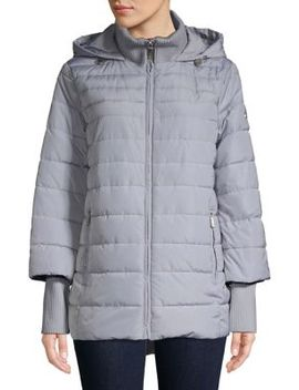 Quilted Hooded Jacket by Kenneth Cole New York