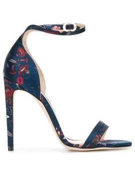 Printed Sandals by Chloe Gosselin