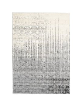 Dorfman Gray Area Rug by Ebern Designs