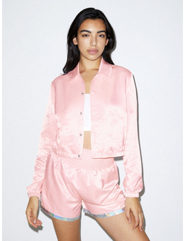 Fly Cropped Coach Jacket by American Apparel