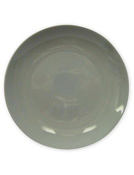 """Dinner Plate Coupe Gray 10""""X10""""   Project 62™ by Shop This Collection"""