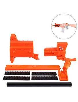 Wolfbush Stryfe Mod Kit Orange, Worker F10555 3 D Printed Front Tube With 25 Cm Inner Pipe For Nerf Stryfe by Wolfbush