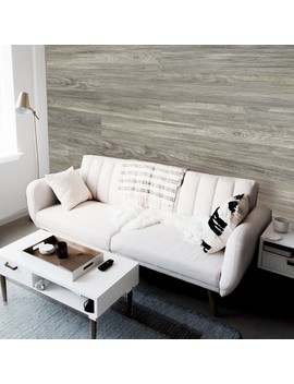 Dip Design Is Personal, Lightweight Diy Decorative Wall Planks   Grey Elm by Dip