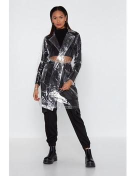 Clear Trench Coat by Nasty Gal