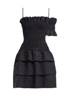 Mariele Smocked Mini Dress by Sir