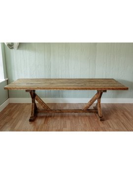 "Mitzi Reclaimed Wood 30"" Dining Table by Millwood Pines"