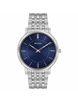 Bulova Men's 40mm Classic Stainless Steel Bracelet Watch by Bulova