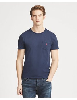 Custom Slim Fit Pocket Tee by Ralph Lauren