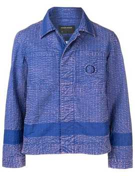 Contrast Panel Shirt Jacket by Craig Green