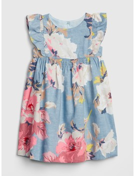 Flutter Floral Dress by Gap