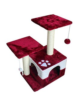 America Phoenix Multi Color Newest Cat Tree Condo Furniture Scratch Post Perch Post Pet House Perch Activity Trees by America Phoenix