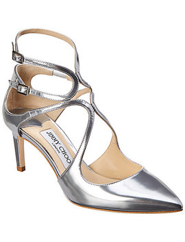 Jimmy Choo Lancer 65 Metallic Leather Pump by Jimmy Choo