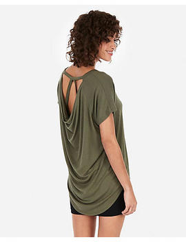 Express One Eleven Strappy Back London Tee by Express