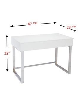 Harper Blvd Ida White Adjustable Height Sit/ Stand Desk by Harper Blvd