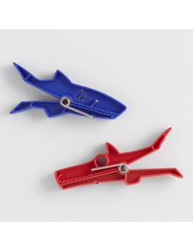 Shark And Dog Bag Clips 2 Pack by World Market