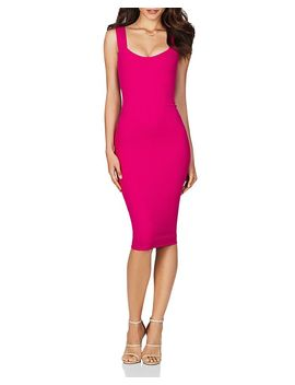 Passion Scuba Midi Dress by Nookie