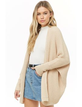 Dolman Sleeve Cardigan by Forever 21