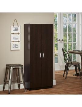 Avenue Greene Anniston Espresso Tall Storage Cabinet by Avenue Greene