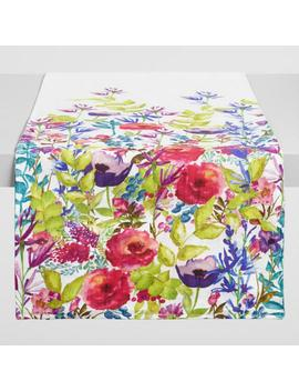 Botanical Poppy Table Runner by World Market