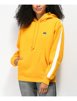 Obey Nova Gold Taped Hoodie by Obey
