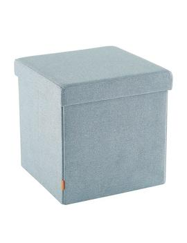 Steel Blue Poppin Box Seat by Container Store