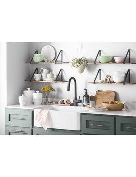 "Ks Cfh01 Charleston Reversible 30'' X 20"" Farmhouse Kitchen Sink With Basket Strainer by Kitchen Bath Collection"