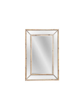 """Wellen 32""""X47"""" Oversize Mirror, Natural by One Kings Lane"""