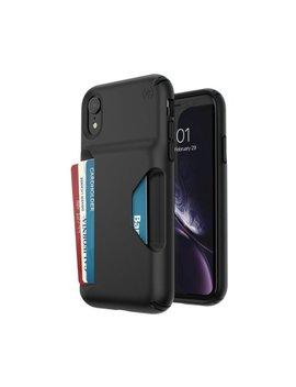 Presidio Wallet Case For Apple® I Phone® Xr   Black/Black by Speck