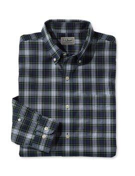Wrinkle Free Mini Tartan Shirt, Traditional Fit by L.L.Bean