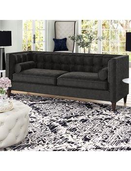 Harcourt Tuxedo Chesterfield Sofa by Willa Arlo Interiors