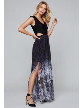 Ombre Print Bandage Gown by Bebe