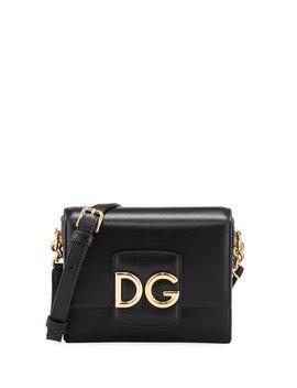 Dg Millennials Leather Crossbody Bag by Dolce & Gabbana