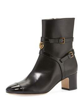 Gucci Geraldine 55mm Leather Bootie by Gucci