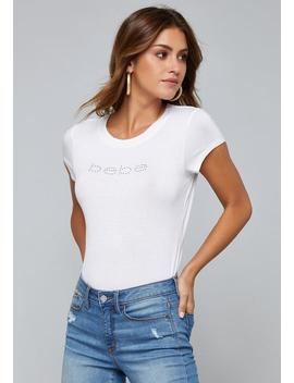 Logo Short Sleeve Tee by Bebe