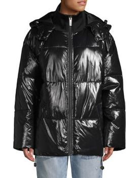 Quilted Hooded Jacket by Ivy Park