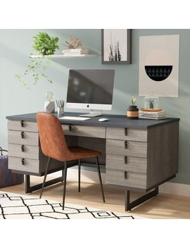 Andreas Executive Desk by Langley Street