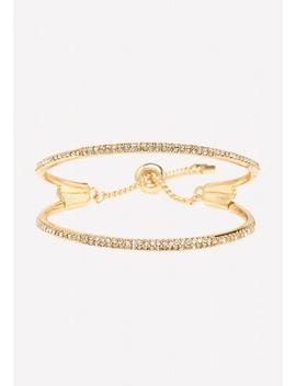 Double Row Slider Bracelet by Bebe