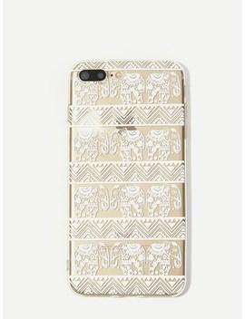 Tribal Elephant & Triangle Pattern I Phone Case by Sheinside