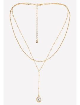 Cz Pendant Necklace by Bebe