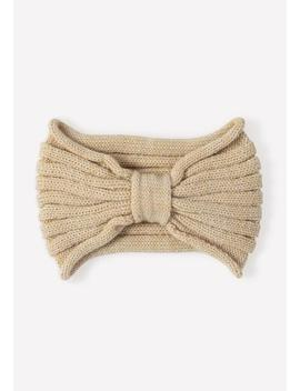 Knotted Knit Headband by Bebe